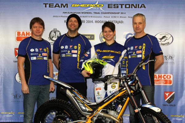 Vasakult: Ilmar Kald, Jaak Burk, Keity Meier, Toomas Gutmann. Foto: Henry Kraus
