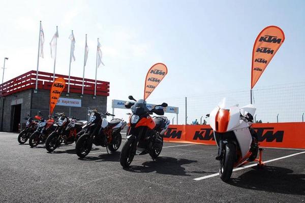 KTM proovisõidupäev 2013