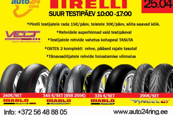Pirelli testipäev