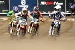 EMX85 teise sõidu start Jago Geerts (554), foto Gino Maes