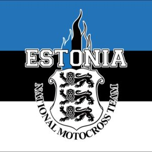 Team Estonia fännilipp