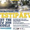 Husqvarna 2016 endurotsiklite testipäev