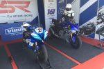 Jüri Randla juunior uue Yamaha R1 tsikliga
