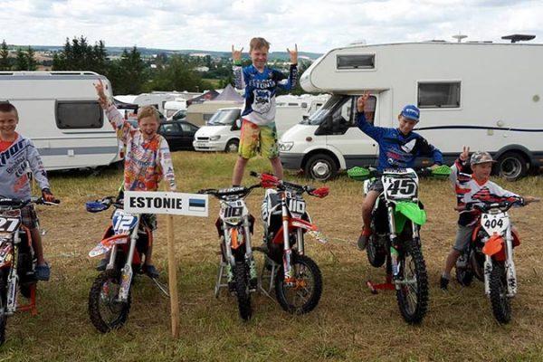 Eesti poisid Master Kids võistlusel 2016, foto erakogu