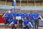 FIM ISDE 2016 Navarra. Eesti meeskond avamisel Pamplonas.