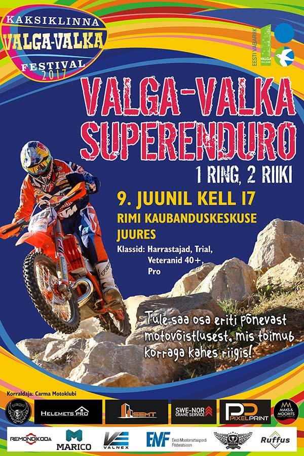 Poster Superenduro 2017 A3