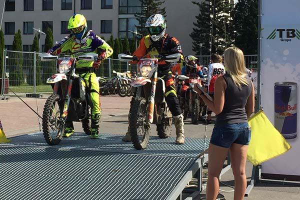 E-1 klassi võitja Veiko Rääts (521), foto erakogu