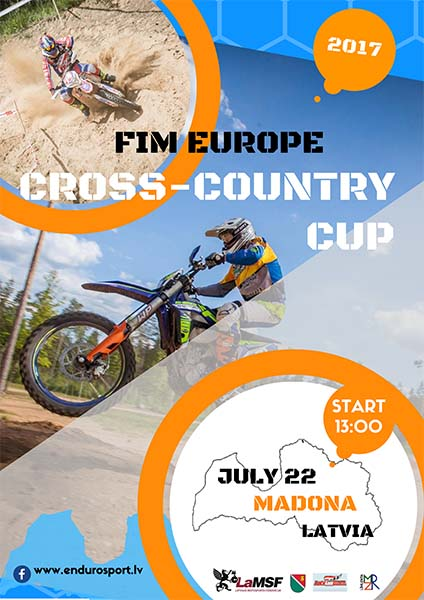 Cross-country enduro cup