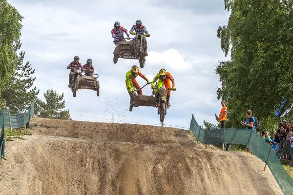 World championship Sidecarsmotocross GP7 in Kivioli, Estonia
