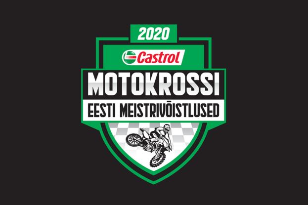 Castrol Eesti Meistrikad 2020 Logo-must