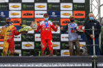 Lommel EMC podium EMX125
